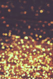 Christmas lights - Golden blurry  soft Bokeh background for your Royalty Free Stock Photo