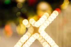 Christmas lights holiday boken background Royalty Free Stock Photo