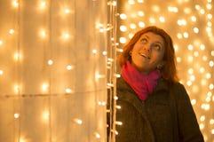 Christmas lights joy Royalty Free Stock Image