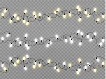 Christmas lights lamp royalty free stock photos