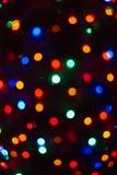 christmas lights merry Στοκ φωτογραφία με δικαίωμα ελεύθερης χρήσης