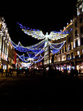 Christmas lights on Regent Street Royalty Free Stock Images