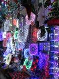 Christmas Lights for Sale Stock Photo