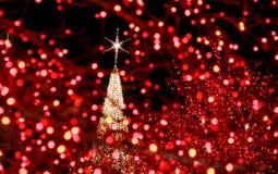 Christmas Lights / Star Stock Photo
