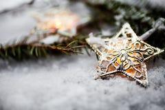 Christmas lights royalty free stock photo