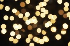 christmas lights tree Στοκ εικόνες με δικαίωμα ελεύθερης χρήσης