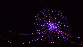 Christmas lights. Video Stock Photos