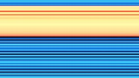 Playful lines background blue orange yellow Stock Photos