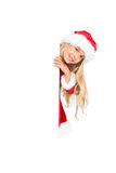 Christmas list of wishes Stock Image