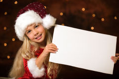 Christmas list of wishes Stock Images