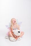 Christmas- little angel Royalty Free Stock Images