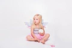Christmas- little angel Stock Photography