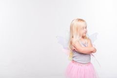 Christmas- little angel Stock Photos