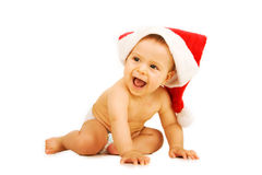 Christmas little baby Royalty Free Stock Photo