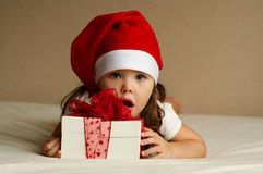 Free Christmas Little Girl Royalty Free Stock Images - 11208909