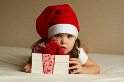 Free Christmas Little Girl Royalty Free Stock Photo - 11837025