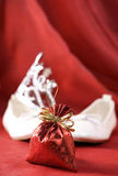 Christmas for little princess Royalty Free Stock Photo