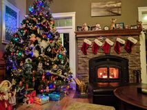 Christmas living. High resolution pro shot on nexus 6p royalty free stock images