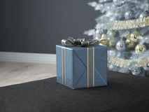 Free Christmas Living Room. 3d Rendering Stock Photo - 60725190