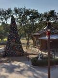 Christmas Lodge stock images