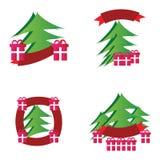 Christmas logos Stock Photography