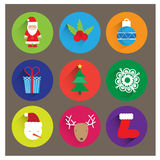 Christmas logos/icons,banners Stock Photos