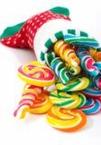 Christmas lollipop Stock Photography