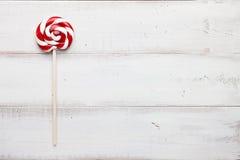 Christmas lollipop close up Stock Photography