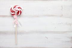 Christmas lollipop close up Stock Photo