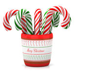Christmas lollipops Stock Image