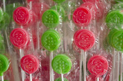 Christmas Lollipops Stock Images