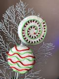 Christmas lollypop decoration royalty free stock photo