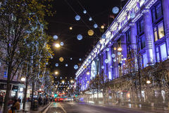 Christmas in London Royalty Free Stock Image