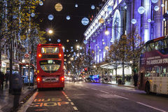 Christmas in London Stock Photography
