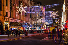Before Christmas London Royalty Free Stock Photos