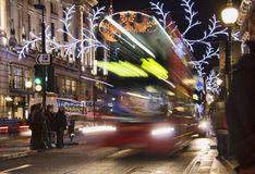 Christmas in London Stock Image