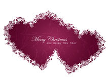 Christmas love background. Beautiful illustration Stock Photography