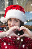 Christmas love. Stock Images