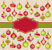 Christmas lovely frame Stock Photo