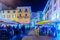 Christmas in Lugano Royalty Free Stock Photos