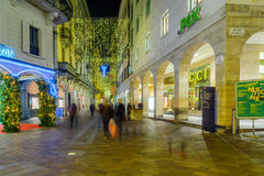 Christmas in Lugano Royalty Free Stock Image