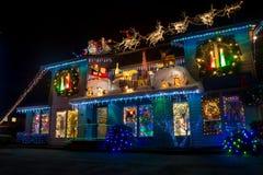 Christmas luminosity Royalty Free Stock Images