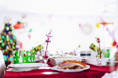 Christmas Lunch Stock Images
