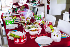 Christmas Lunch Royalty Free Stock Image