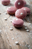 Christmas macaroons Royalty Free Stock Image