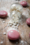 Christmas macaroons Royalty Free Stock Images