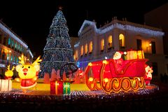 Christmas in Macau 2012 Royalty Free Stock Photography