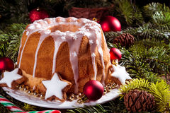 Christmas madeira cake Stock Photography