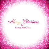 Christmas magenta abstract background. Stock Photos