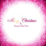 Christmas magenta abstract background. Stock Photos